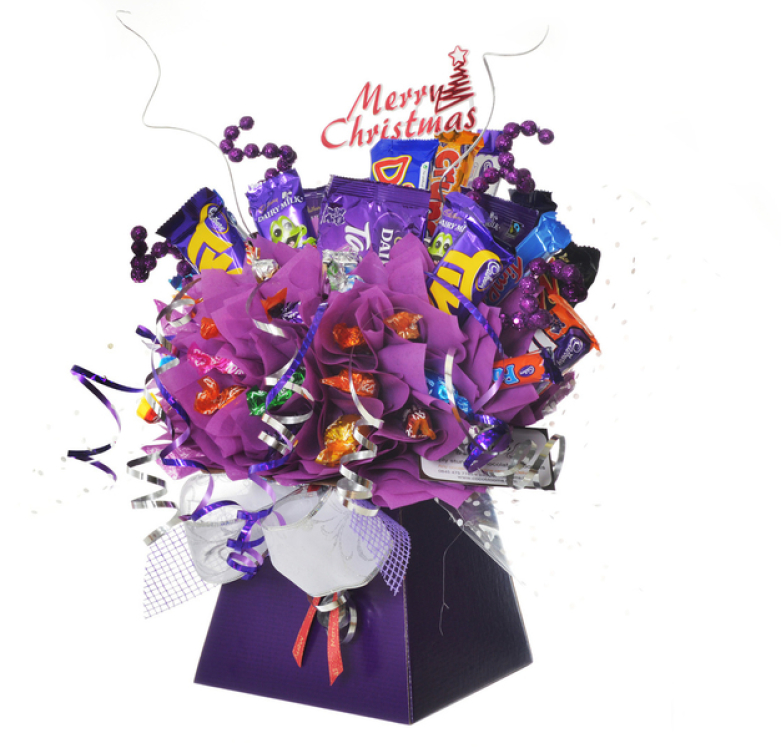cadbury chocolate bar bouquet for christmas
